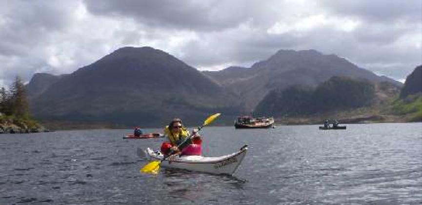 Kayaking on the 2015 Spring Meet
